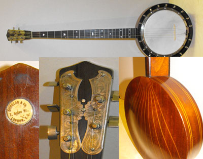 Banjo / Zither banjo by Douglas & Co./Hougton